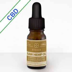 Olejek Konopny RAW 15% CBD+CBDa 10ml